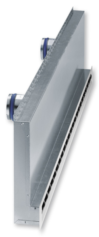Drywall Slot Diffuser : Type vsd lt trox denmark a s